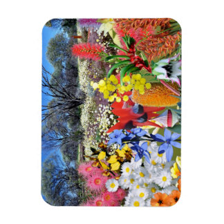 REFLECTIONS OF OZ Australian Wildflowers Magnet