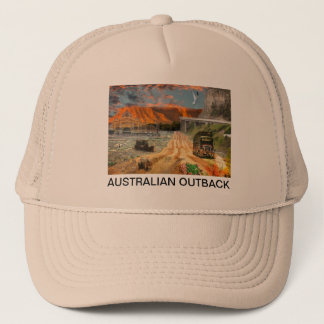 REFLECTIONS OF OZ    Oodnadatta Track to Kings Trucker Hat