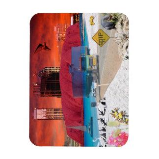 REFLECTIONS OF OZ    ULURU Ayers Rock Magnet
