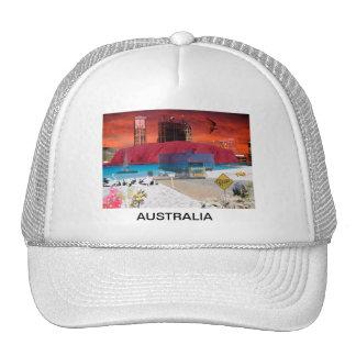 REFLECTIONS OF OZ    Uluru Ayers Rock Trucker Hat