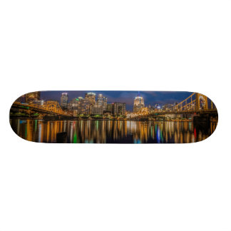 Reflections of Pittsburgh Skate Deck