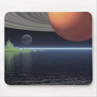 Reflections of Saturn Mouse Pad