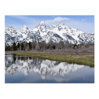 Reflections of the Grand Tetons Postcard