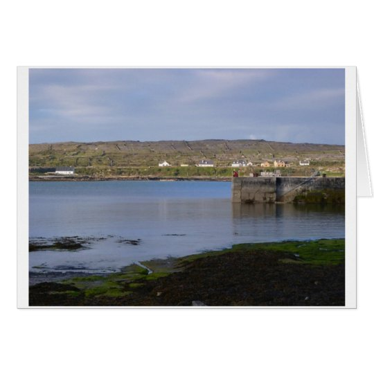 Reflections on Kilronan Harbour Card