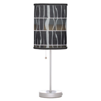 Reflections on Modern Buildings Table Lamps
