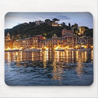 Reflections on Portofino, Italia Mousepad