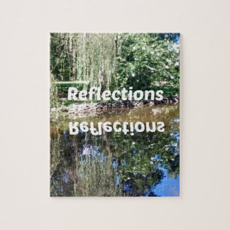 Reflections on water jigsaw puzzle