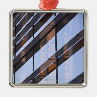 Reflections Silver-Colored Square Ornament
