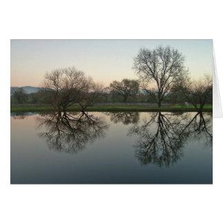 Reflections - Sonoma, CA Card