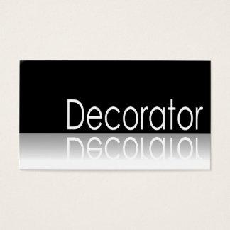 Reflective Text - Decorator - Business Card
