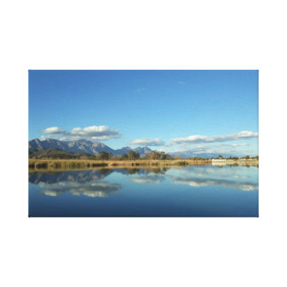 Reflective Water Canvas Print