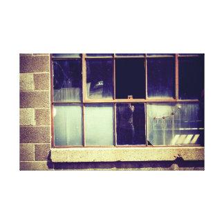 Reflective Window Canvas