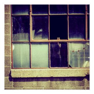 Reflective Window Poster