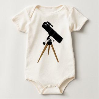 Reflector Telescope Baby Bodysuit