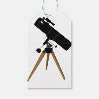 Reflector Telescope Gift Tags