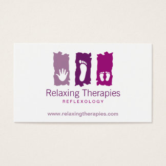 Reflexology Business Card