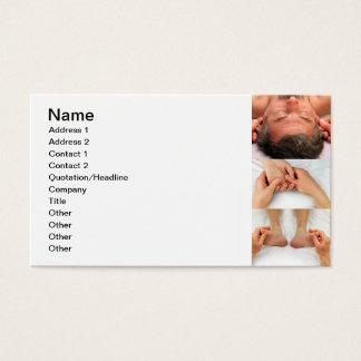 Reflexology of Ears, Hands, and Feet Business Card