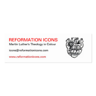 Reformation Icons Business Card Template