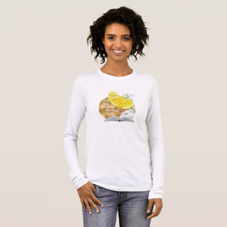 """""""Reformed Theology Chick"""" Canvas Long Sleeve Tee"""