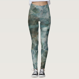 Refraction Action Digital Art Leggings