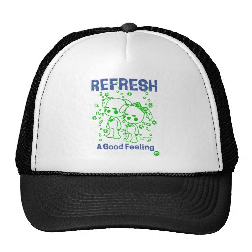 REFRESH - A Good Feeling - 1-Style Of Vintage Trucker Hats