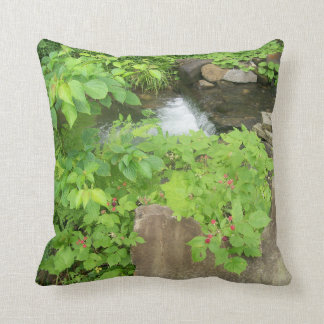 Refreshing View Throw Pillow