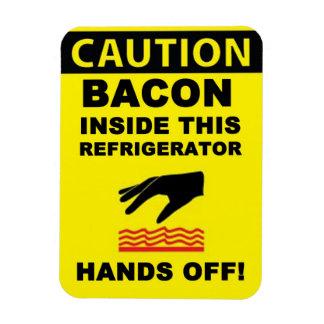 Refrigerator Bacon Security Magnet