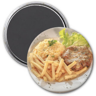 Refrigerator Magnet: French Fries Meal Magnet