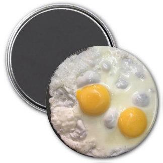 Refrigerator Magnet: Fried Egg Magnet
