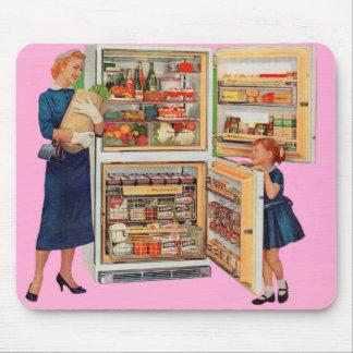 refrigerator of plenty mouse pad