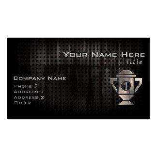 Refroidissez le ęr trophée d'endroit carte de visite standard