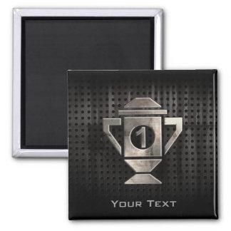 Refroidissez le ęr trophée d'endroit magnet carré