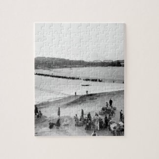 Refugees streaming across _War Image Puzzle