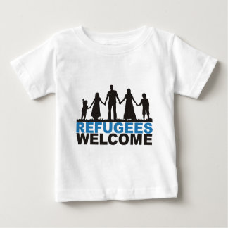 Refugees Welcome Baby T-Shirt