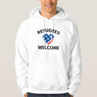 Refugees Welcome Hoodie