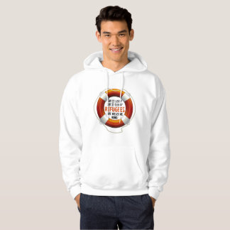 Refugees Welcome Men's Basic Hoodie