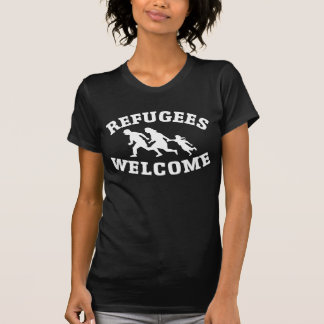 REFUGEES WELCOME shirt