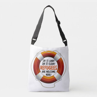 Refugees Welcome Sling Bag