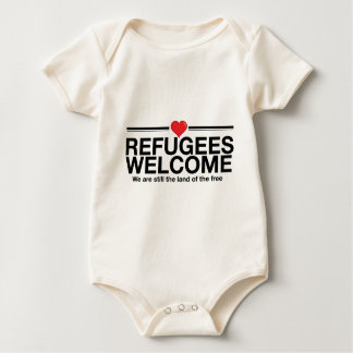 RefugeesWelcome.jpg Baby Bodysuit