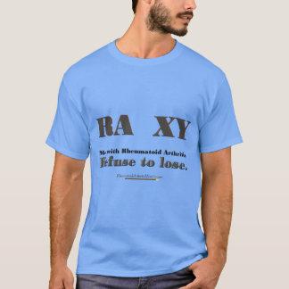 Refuse to Lose rheumatoid arthritis t-shirt