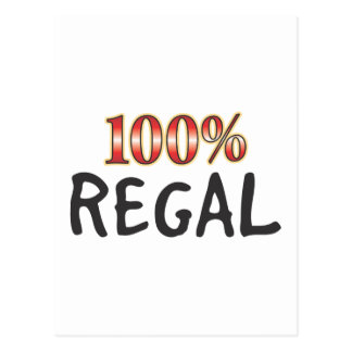 Regal 100 Percent Post Cards