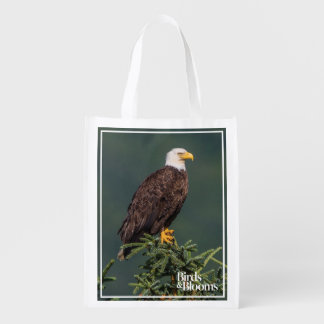 Regal Bald Eagle Reusable Grocery Bags