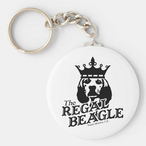 Regal Beagle Key Chain