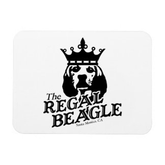 Regal Beagle Rectangle Magnets