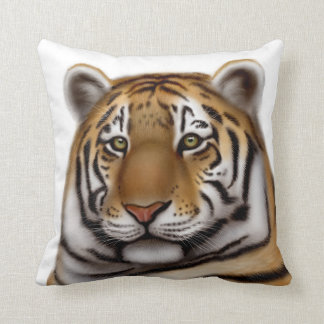 Regal Bengal Tiger Pillow