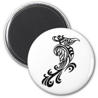 Regal Bird Design Fridge Magnet