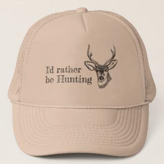 Regal Buck - I'd Rather Be Hunting Trucker Hat