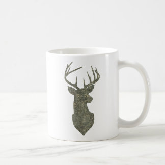 Regal Camouflage Deer Silhouette Buck Trophy Coffee Mug