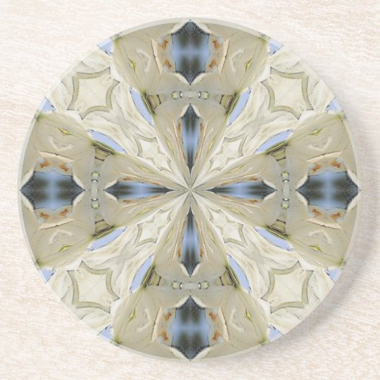 Regal Cross Sandstone Coaster