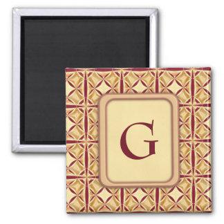 Regal Decor Square Magnet